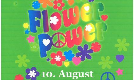 Flower-Power Sommerfest 2019